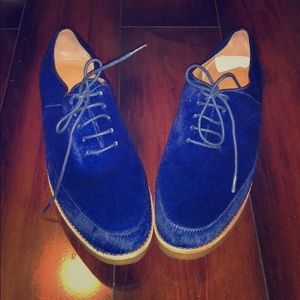 Marc By Marc Jacobs Pony Hair Oxfords. Size 10.